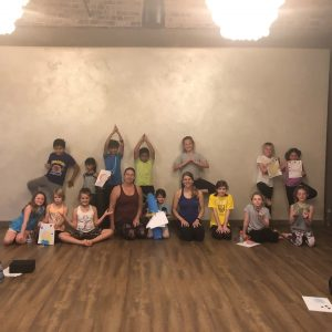 Kid's Yoga Summer Camp