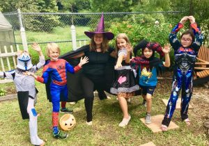 Halloween Kid's Yoga Workshop | Red Skies Yoga | Jacksonville FL