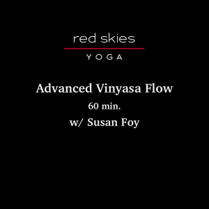 Advanced Vinyasa Flow (60 min.)