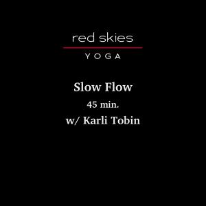 Slow Flow (45 min.)